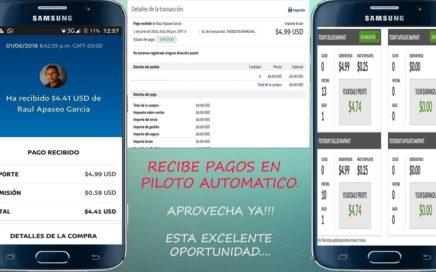COMO GANAR DINERO CON PAYPAL Y JVZOO 2018 $4.99 USD PRUEBA DE PAGO SIN FRONTERA DIGITAL