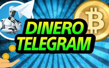 !!!COMO GANAR DINERO CON TELEGRAM (PARTE2) GANA BITCOIN MINANDO JUNIO 2018!!
