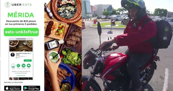 Como ganar dinero con tu moto | Trabajando en Uber Eats