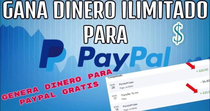 COMO GANAR DINERO DE FORMA GRATIS Y FÁCIL EN PAYPAL!!!! 100% REAL