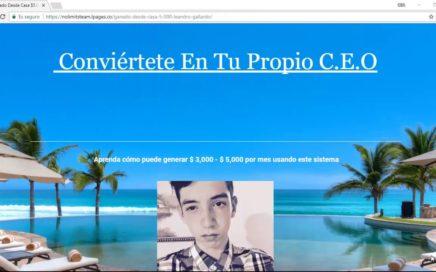 Como Ganar Dinero Desde Casa// Por Internet $300 Al Dia
