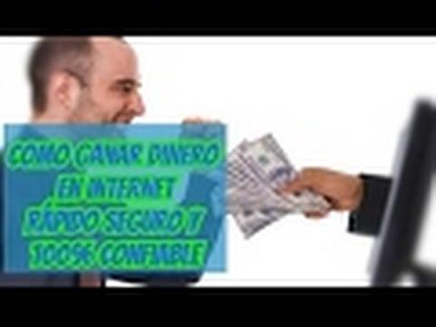 Como ganar dinero en internet 2017 Rapido y 100% Seguro