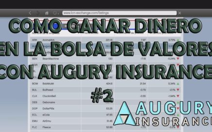 COMO GANAR DINERO EN LA BOLSA DE VALORES CON AUGURY INSURANCE (FACIL Y RAPIIDO) |  GTAV PS4