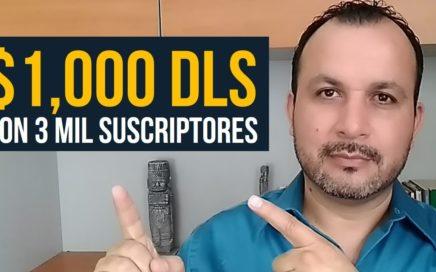 Cómo Ganar Dinero en YouTube con Pocos Suscriptores (Revelo Mi Estrategia)