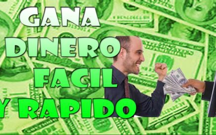 COMO GANAR DINERO FACIL Y RAPIDO SI FUNCIONA  2016