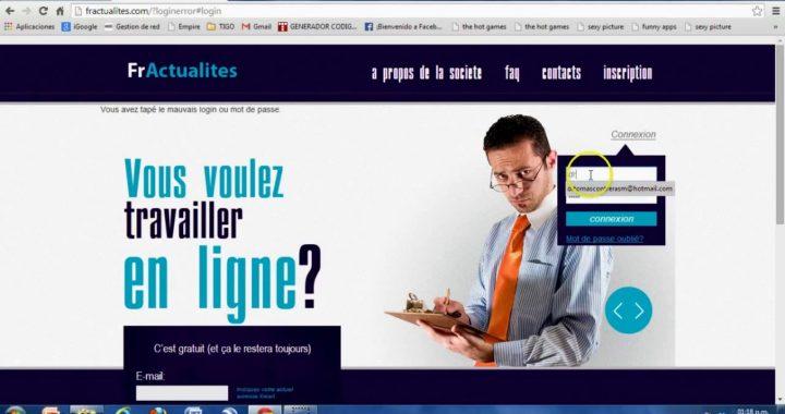 Como ganar dinero por Internet, 800 euros fácil y rápido