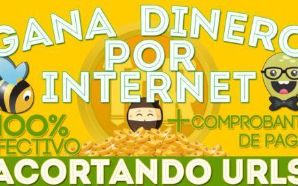 Como Ganar Dinero Por Internet Acortando Enlaces + Comprobante De Pago | En Poco Tiempo | 2017