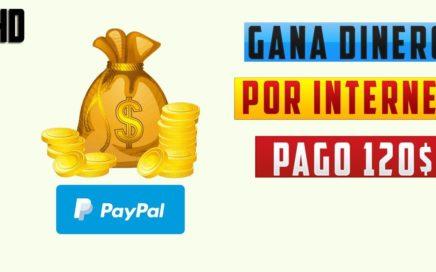 Cómo GANAR DINERO por INTERNET desde casa GRATIS 2018 | PAGO 120 DOLARES DIARIOS!
