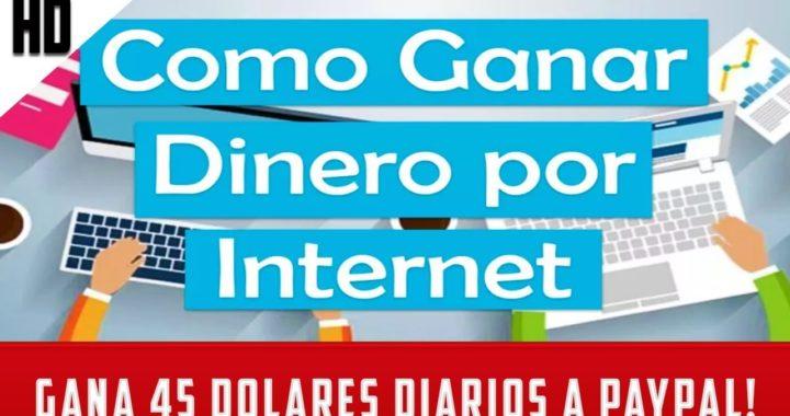 Cómo GANAR DINERO por INTERNET desde casa GRATIS 2018 | PAGO 40 DOLARES DIARIOS!