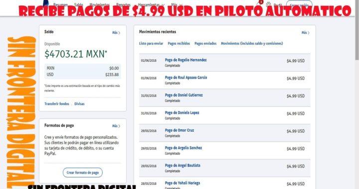 COMO GANAR DINERO POR INTERNET PAYPAL 2018 SIN FRONTERA DIGITAL