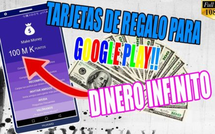 Como Ganar Tarjetas  de Regalo Para la Play Store Grstis | Make Money Para Android 2018