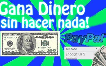 Como gano 20$ DIARIOS solo con mi pc y internet sin invertir - PAYPAL, BTC