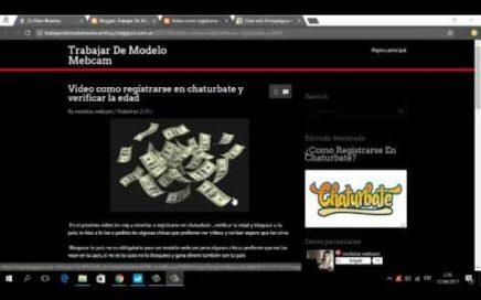 Como registrarse en Chaturbate - Gana dinero por VideoChat