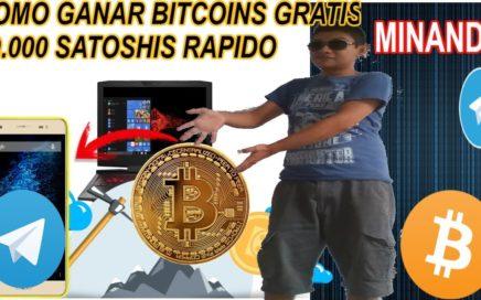 Como Tener Bitcoins Gratis/ Gana 50,000 Satoshis Rapido/ Gana dinero gratis 2018