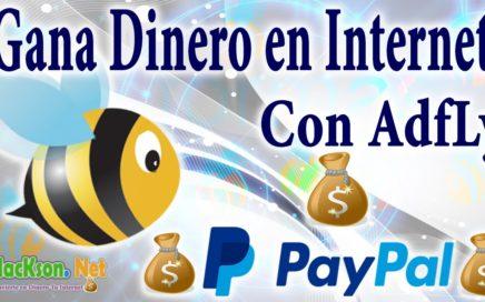 Comparte tus Links y Gana Dinero con AdfLy Paypal 2015