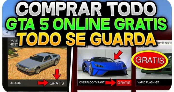 COMPRA TODO GTA 5 ONLINE GRATIS Y SE GUARDA! 1.43 *MUY FÁCIL* (COCHES , AVIONES , INSTALACIÓN)