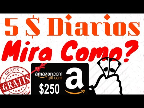 Con Esta App Puedes Ganar 5$ Diarios Por Amazon Totalmente Gratis y Rápido 2018