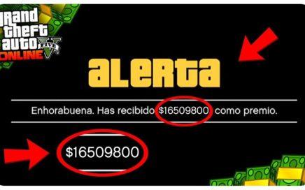 CONSIGUE +300.000$ EN 1 SOLO PASO SIN AYUDA! *ROCKSTAR TE REGALARA DINERO EN GTA 5 ONLINE POR ESTO*