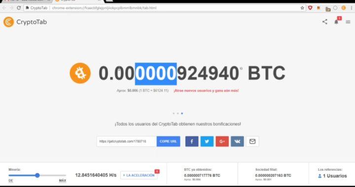 CryptoTab Gana Dinero Sin Invertir Nada Con Tu PC