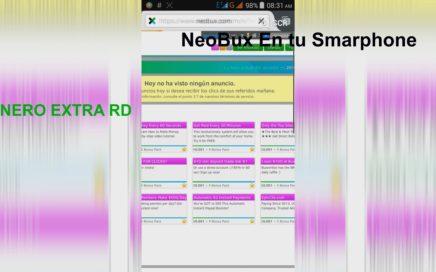 Dinero Extra RD|Ver Anuncios de NeoBux Desde tu Smarphone-2016
