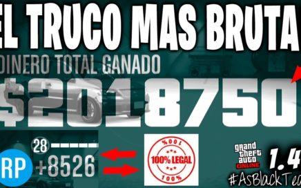 DINERO y RP INFINITO - EL TRUCO MAS BRUTAL DE GTA 5 - 2.000.000$ y 8.500RP a AMIGOS - (PS4 - XB1)
