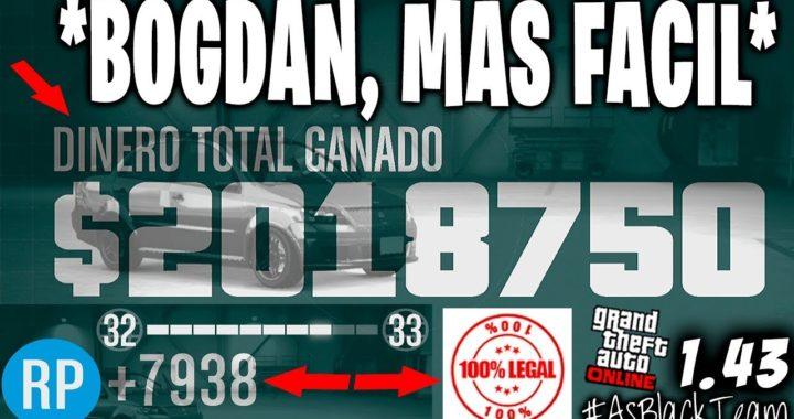 DINERO y RP INFINITO - PROBLEMA DE BOGDAN -  GTA 5 - 2.000.000$ - 8.000RP - !MEJORADO! - (PS4 - XB1)