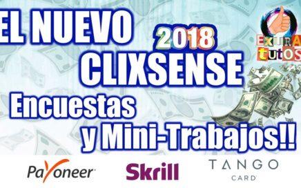 El Nuevo Clixsense 2018 | Primeras Impresiones | Clixsense Encuestas y Tareas | Dinero para Payza