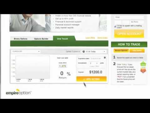 EmpireOption - One Touch - Ganar Dinero Online