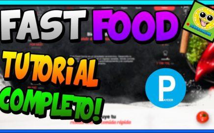 FastFood Tutorial Completo! | GANA DINERO JUGANDO Y VIENDO ANUNCIOS | PAGOS INSTANTANEOS | Payeer