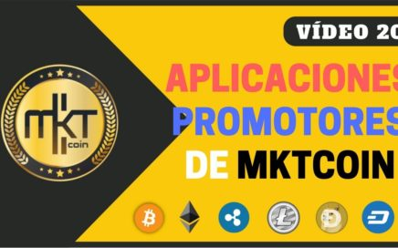 FLASH | Aplicaciones de MKTcoin Disponibles en la Play Store