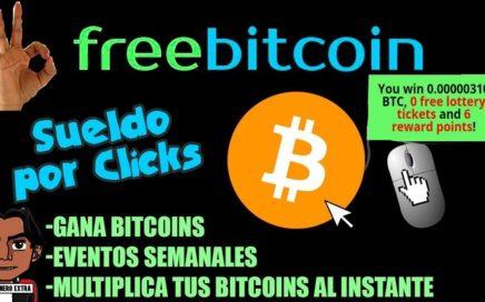 Freebitcoin Genera dinero facil y rapido | Hasta 50$ Semanales Totalmente Gratis