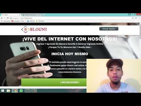 Gana $50 USD DIARIOS con Blouni!! - Ganar Dinero por Internet Desde Casa