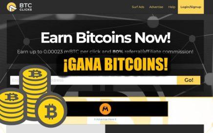 ¡Gana Bitcoins con BTCCLICK en Venezuela + comprobante de pago!