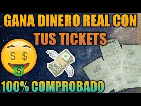 GANA DINERO!!! Con Esta App | Escaneando Tus Tickets | Comprobado...
