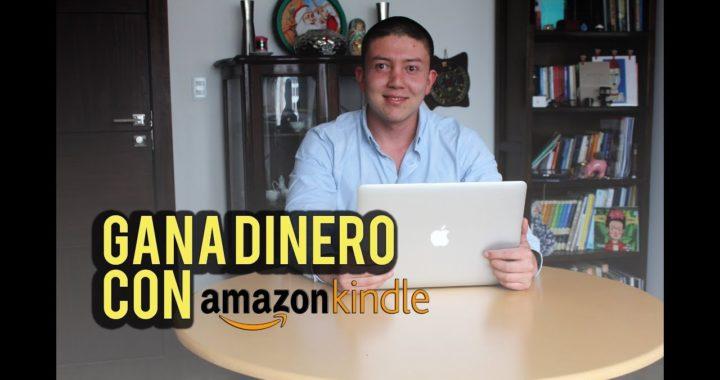 Gana dinero con Kindle de Amazon, escribiendo libros.