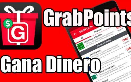 Gana Dinero con la aplicación GrabPoints