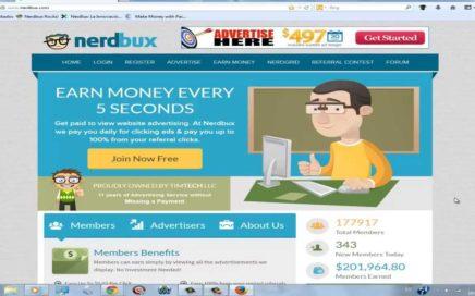 Gana Dinero con NERDBUX Tutorial en Español 2013