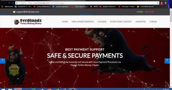 Gana Dinero Desde Casa 2018 Con *FERDINADZ*  Pagos Por -Paypal, -Payeer, -Perfect money, -Bitcoin