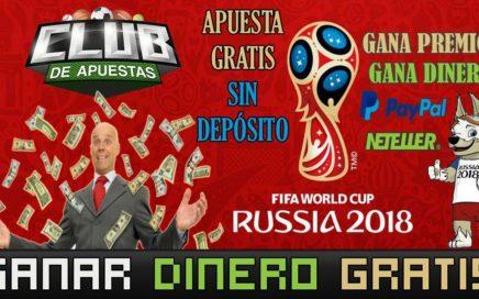 Gana Dinero desde Casa Apostando Gratis a los Partidos del Mundial de Rusia 2018 Sin Invertir Nada