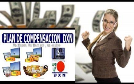 GANA DINERO, PLAN DE COMPENSACIÓN DXN.