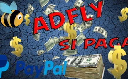 gana dinero por internet con adfly 2018 ( prueba de pago) facil y seguro