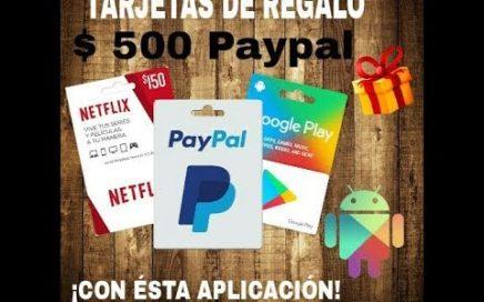 GANA TARJETAS DE PAYPAL, GOOGLE PLAY Y NETFLIX (GRATIS)