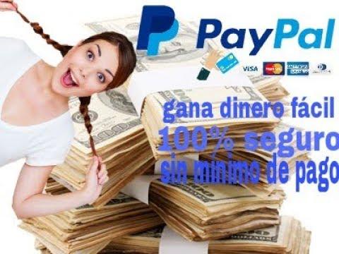 Gana un 1 dólar por Hora  PayPal | como ganar dinero PayPal sin mínimo de pago 2018