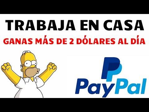 ¡Ganar 2 o más dolares por día! Trabajo en casa - Tutorial para ganar dinero para PayPal fácil
