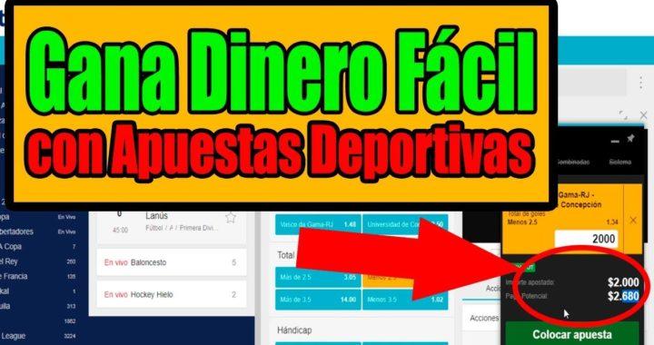 Ganar DINERO con Apuestas Deportivas Colombia -  Como Ganar Dinero Fácil APOSTANDO Luisito Habla
