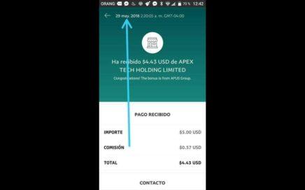 Ganar Dinero Desde tu Celular / Para PayPal Desde 5 Dolares Diarios