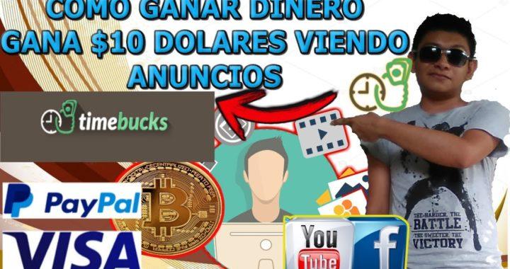 Ganar dinero online por internet gratis / Gana 10 dolares en paypal
