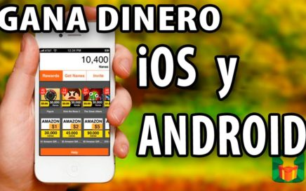 Ganar  DINERO REAL usando smartpone iPhone tablet Android 2018