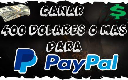 GANAR HASTA 400 $ DIARIO O MAS CON ESTA EXCELENTE PLATAFORMA //TODOS LOS PAISES //PAGOS HACIA PAYPAL