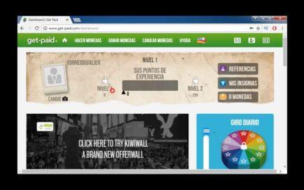 Ged Paid Como Ganar Dinero  2018  Hasta  20 Dolares Diarios o Mas (Sin Inversion)  Totalmente Gratis